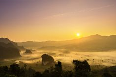 Doi Phulangka at sunrise, Province Phayao by keangs9 Chaianan via 500px