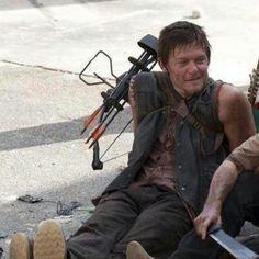 Daryl relaxin'