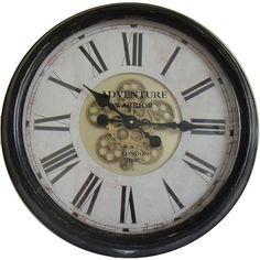 Found it at Wayfair.co.uk - XXL 63cm Analogue Wall Clock