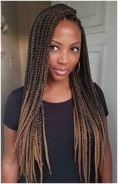 60 Totally Chic And Colorful Box Braids Hairstyles To Wear! - Part 2 - 60 Totally Chic And Colorful Box Braids Hairstyles To Wear! Box Braids Hairstyles For Black Women, Crochet Braids Hairstyles, Braids For Black Women, Black Braids, African Hairstyles, Girl Hairstyles, Winter Hairstyles, Medium Hairstyles, Hairstyle Braid