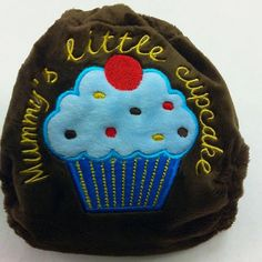 Wee Notions cupcake nappy
