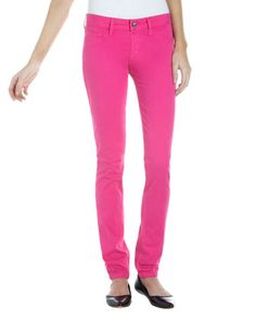 Sale price 25.87 -- Spring Street Skinny Jeans, Pink by Fade to Blue at Last Call by Neiman Marcus.