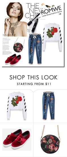 """Romwe 69"" by zerina913 ❤ liked on Polyvore featuring Off-White and romwe"