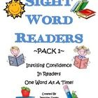 After years of trying to find sight word practice for my students, I decided to make sight word readers!  My students practice writing the sight wo...