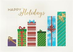 71 best corporate holiday greetings images on pinterest business wall street greetings financial holiday cards corporate greeting cards financial advisors christmas m4hsunfo