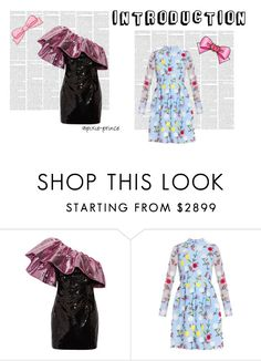 """""""sky blue"""" by gadinarmada-1 ❤ liked on Polyvore featuring Yves Saint Laurent and Erdem"""