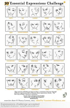 Expressions Challenge Accepted by *StyrbjornA on deviantART: