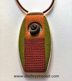 IMG_20171114_083034   Polymer clay pendant by Shelley Atwood…   Shelley Atwood   Flickr