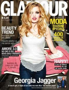 No place without a genius on Glamour Italy-March 2013!
