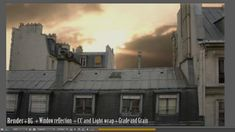 Rooftop matte painting breakdown by Jetfx. Tools: