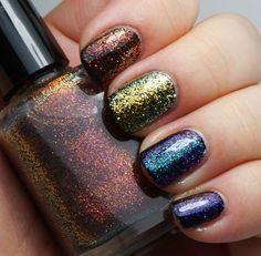 Pi! - Multichrome / Colorshifting glitter top coats – Indigo Bananas