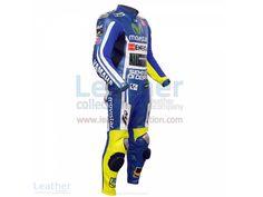 Valentino Rossi Movistar Yamaha M1 MotoGP Leathers  https://www.leathercollection.com/en-we/valentino-rossi-movistar-yamaha-m1-motogp-leathers.html  #Valentino_Rossi_Leathers, #Valentino_Rossi_Movistar_Yamaha_M1_MotoGP_Leathers, #VR46_Apparel