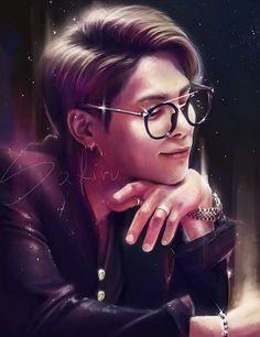 Jonghyun_ SHINee_ FanArt_