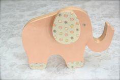 Elephant crafts: DIY door stop. - Mod Podge Rocks