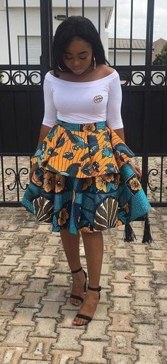 Hottest Kente Styles For Celebrities Diyanu - Aso Ebi Styles Short African Dresses, Ghanaian Fashion, Latest African Fashion Dresses, African Print Fashion, Africa Fashion, African Dress Styles, Ankara Fashion, Short Dresses, African Print Skirt