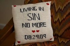 No link - just had to remember this pillow haha