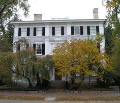 Wheatland-Phillips House. 30 Chestnut Street, Salem, Massachusetts. Designed in Colonial Revival style by architect John P. Benson, 1896.