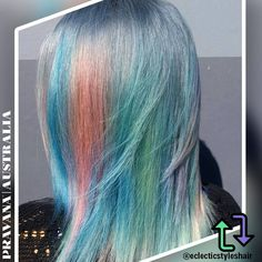 Pastels, Pastel Hair, Opal, Unicorn, Inspired, Salons, Facebook, Collection, Long Hair Styles