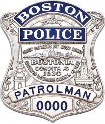 Boston, Mass. Police Badge