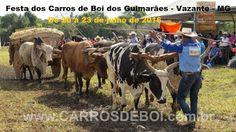 Festas de Carros de Boi: Festa dos Carros de Boi do Guimarães em Vazante - ...