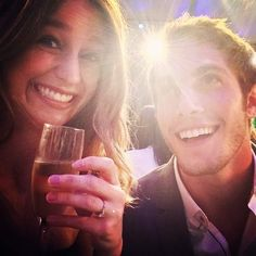 Glee costars Melissa Benoist and Blake Jenner are ending their two-year marriage. TMZ reports the Supergirl star has filed for divorce. The couple, who started Melissa Supergirl, Supergirl Comic, Cute Celebrity Couples, Cute Couples, Melissa Benoist Blake Jenner, Melissa Blake, Glee Season 4, Secretly Married, Cutest Couple Ever