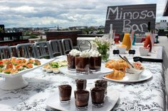 #PartyPlan – Sunday Funday Brunch! | Social and Style | Mimosa Bar