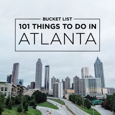 Check out our Atlanta Bucket List of 101 Things to Do. We grew up in Atlanta but realized when we moved away that we had taken our city for granted.