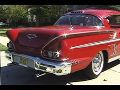 1958 Chevy Impala We go for a ride. - YouTube