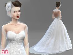 Lana CC Finds - Wedding Set 1 by coloresurbanos