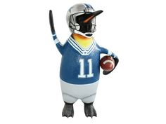 JBA165 - Funny American Football Player Penguin - All Football Team Colors Painted - 1 - JBA165 - Funny American Football Player Penguin - All Football Team Colors Painted - 1.jpg
