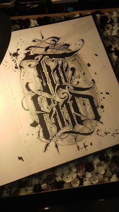 Burn but don't burry Calligraphy Tattoo Fonts, Tattoo Lettering Styles, Chicano Lettering, Calligraphy Words, Tattoo Script, Types Of Lettering, Script Lettering, Graffiti Lettering, Lettering Design