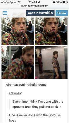 dylan and cole sprouse funny Sprouse Bros, Dylan Sprouse, Cole Sprouse Funny, Funny Tumblr Posts, My Tumblr, Leonardo Dicaprio, Memes Riverdale, Zack Y Cody, Dylan And Cole