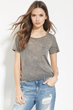 Contemporary Mineral Wash Tee