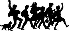 silhouette of people - Google Search Silhouette Pictures, School Painting, Stencils, Google Search, People, Ideas, Art, Art Background, Kunst
