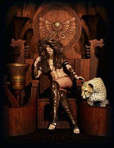 Throne by Ikke46.deviantart.com on @DeviantArt