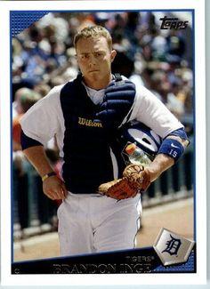 2009 Topps Baseball # 34 Brandon Inge Detroit Tigers - MLB Trading Card by Topps. $1.87. 2009 Topps Baseball # 34 Brandon Inge Detroit Tigers - MLB Trading Card