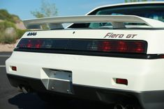 This 1985 Pontiac Fiero GT has just over 4600 miles from new and comes from the first year of V6 Fiero production. The car remains cosmetically stock, and is said to retain its original paint throughout. It features the WS6 performance package and shows a high level of preservation inside and out.