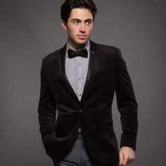 FELLINI TAILORED Velvet Tuxedo Blazer - Blazers & Jackets - Tailoring - Suits & Tailoring | Slaters