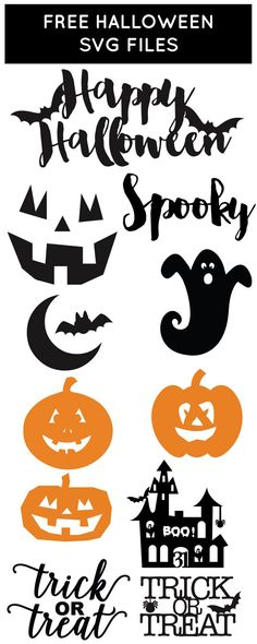 Free Halloween SVG Files from /chicfetti/                                                                                                                                                     More