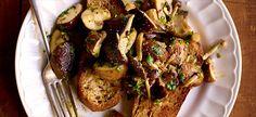Delhaize - Toasts aux champignons des bois