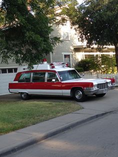 Old ambulance McKinney, Texas