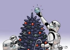 Image about star wars in A).- memes and more 🙈🙉🙊👅 by Sara Smile Images Star Wars, Star Wars Pictures, Theme Star Wars, Star Wars Party, Star Wars Christmas, Christmas Art, Christmas Images, Star Wars Jokes, Star Wars Wallpaper