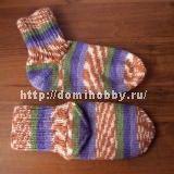 Knitting socks with a separate heel / Amazing Handmade Crochet Socks, Knitting Socks, Knit Crochet, Rubrics, Handicraft, Needlework, Heels, Handmade, Crafts