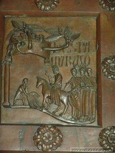 Bonanno Pisano, Porta di San Ranieri 1180, Pisa, Duomo.