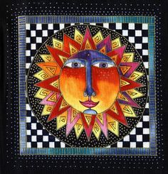 There's a Dragon in my Art Room: Here Comes the Sun... 2nd graders & Laurel Burch