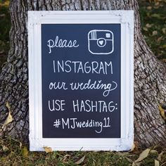 I love Instagram at weddings! Photo sharing with your friends is the best and I think this blogger Jen is right on with her DIY instructions for how to #Hashtag Your Wedding With Instagram. Learn how at http://somethingturquoise.com/2013/01/25/instagram_your_wedding/