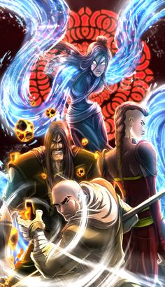 Red lotus, from the Legend of Korra Red Lotus Avatar Wan, Avatar Legend Of Aang, Avatar Zuko, The Last Avatar, Avatar The Last Airbender Art, Team Avatar, Legend Of Korra, Avatar Cartoon, Avatar Funny