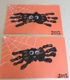 easy halloween crafts for elementary students #halloweencrafts