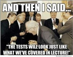 OH LETS MAKE THEM DO THESE ATI TESTS HAHAHAHAHAHAHAHAHA......no seriously. Not funny..