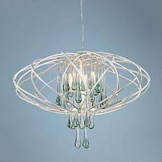 Varaluz Area Pearl Contemporary Pendant Light